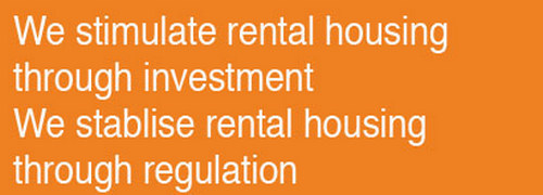 We stimulate rental housing through investment